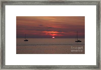 Sunrise Rockport Ma Framed Print
