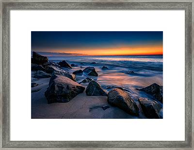Sunrise, Sandy Hook Framed Print