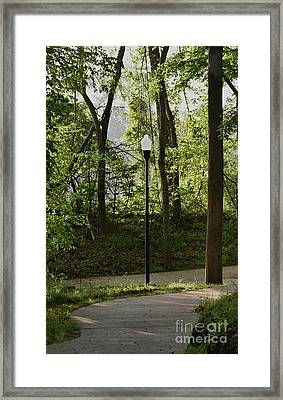 Framed Print featuring the photograph Sunrise Service by Skip Willits