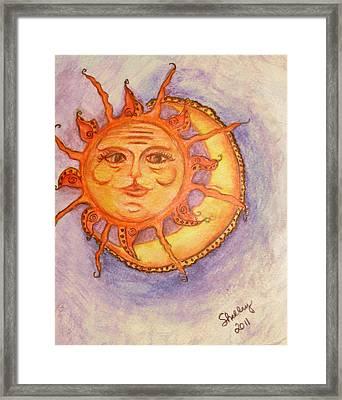Sunrise Framed Print by Shelley Bain