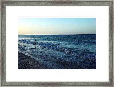 Sunrise Solitude Framed Print