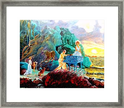 Sunrise Sonata Framed Print by Henryk Gorecki