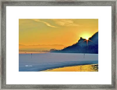 Sunrise Sparkle Framed Print