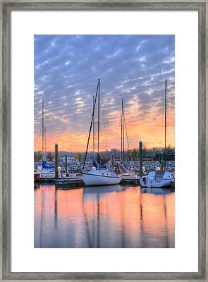 Sunrise Splendor Framed Print