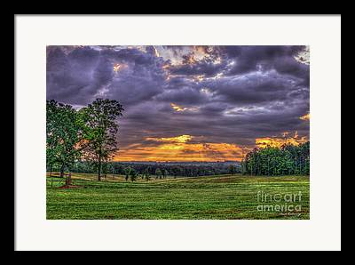 Richland Creek Framed Prints