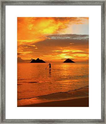 Sunrise Standup Framed Print