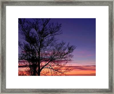 Sunrise, Sunrise Framed Print