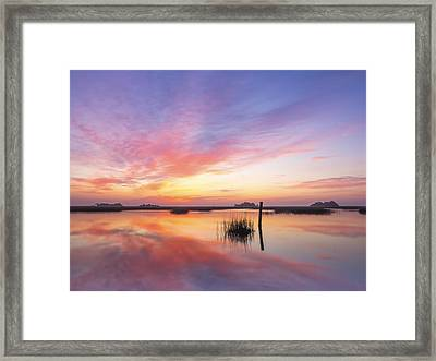 Sunrise Sunset Art Photo - I Belong Framed Print