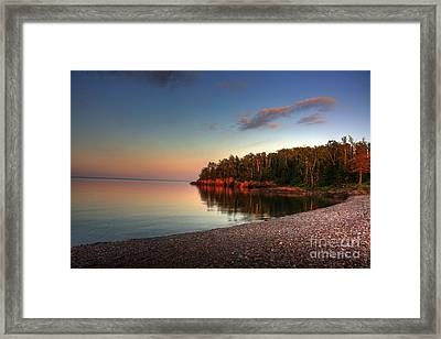 Sunrise Sunset On Lake Superior 1 Framed Print