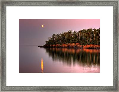 Sunrise Sunset On Lake Superior 2 Framed Print