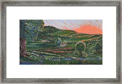 Sunrise Touch Framed Print by Felicia Tica