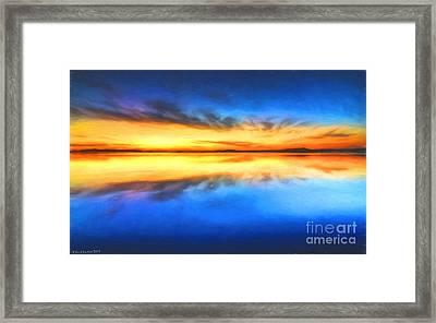 Sunrise Framed Print by Veikko Suikkanen