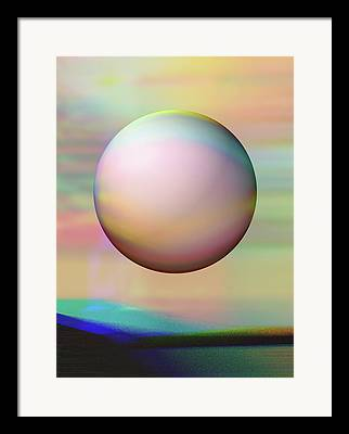 Dream Scape Digital Art Framed Prints