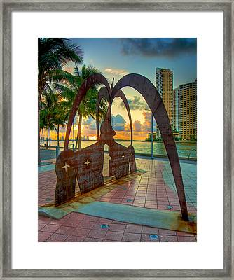 Sunrise With Owners Of The Stars Framed Print by William Wetmore