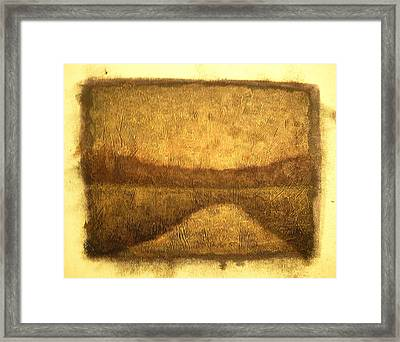 Sunrise Wood Lake Framed Print by Jaylynn Johnson