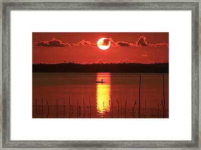 Sunrise Framed Print by Yuli Seperi