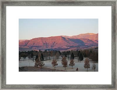 Sunrise3 Framed Print by Deon West