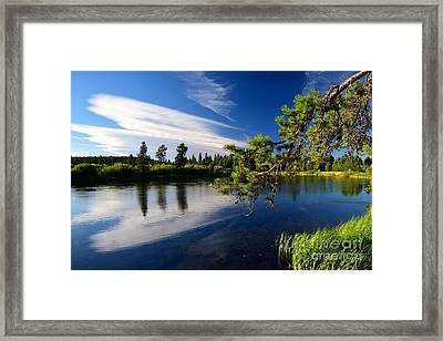 Sunriver Spectacular Framed Print