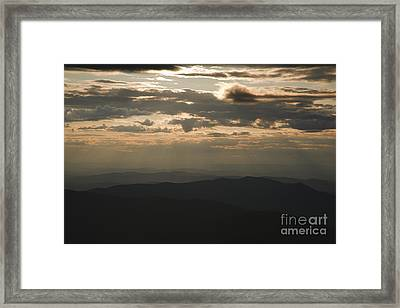 Sunset - White Mountains New Hampshire Usa Framed Print by Erin Paul Donovan
