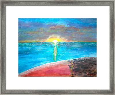 Sunset-1 Framed Print