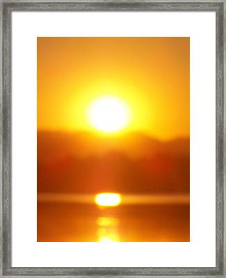 Sunset 1 Framed Print by Travis Wilson