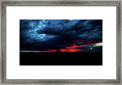 Sunset #10 Framed Print