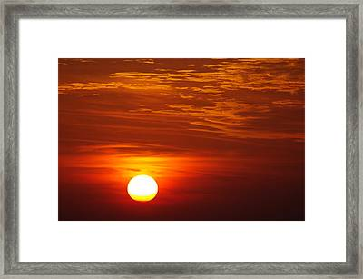 Sunset 11 Framed Print by Don Prioleau