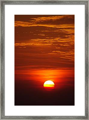 Sunset 13 Framed Print by Don Prioleau