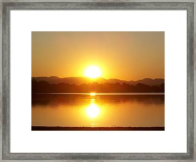 Sunset 2 Framed Print by Travis Wilson