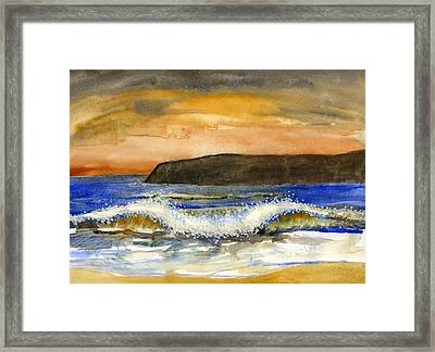 Sunset #20 Coronado Framed Print