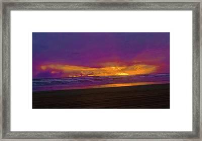Sunset #3 Framed Print