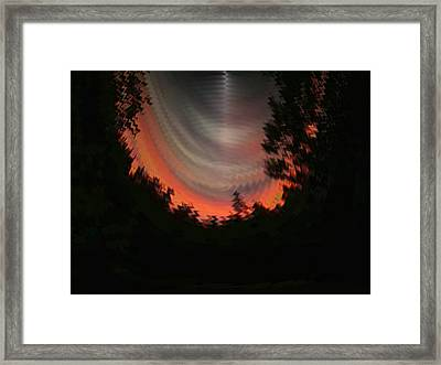 Sunset 3 Framed Print by Tim Allen