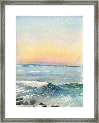 Sunset 33 - La Jolla Framed Print