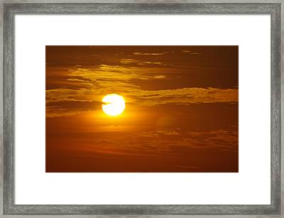 Sunset 4 Framed Print by Don Prioleau