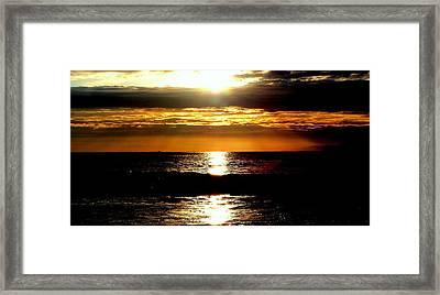 Sunset 4 Framed Print by J Perez