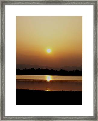 Sunset 4 Framed Print by Travis Wilson