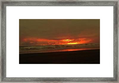 Sunset #5 Framed Print