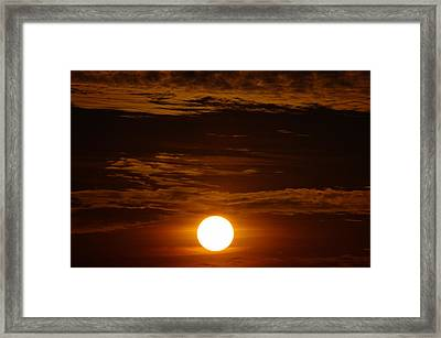 Sunset 5 Framed Print by Don Prioleau