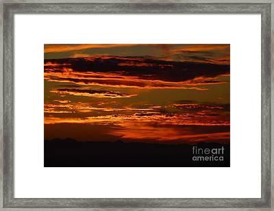 Sunset 5 Framed Print by Jean Bernard Roussilhe