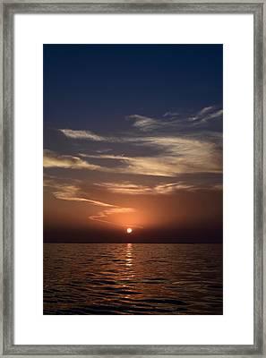 Sunset 5 Framed Print