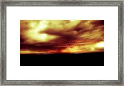 Sunset #6 Framed Print