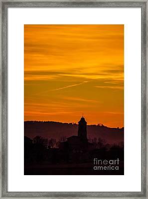 Sunset 6 Framed Print by Jean Bernard Roussilhe