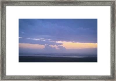 Sunset #7 Framed Print