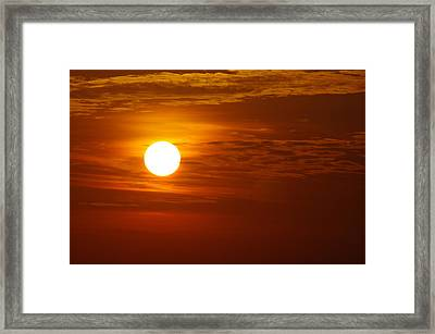 Sunset 7 Framed Print by Don Prioleau