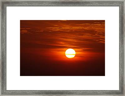 Sunset 8 Framed Print by Don Prioleau