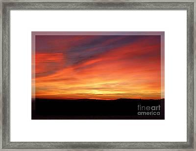 Sunset 9 Framed Print by Jean Bernard Roussilhe
