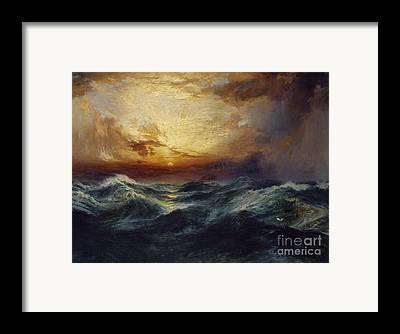 Sunset After A Storm Framed Prints