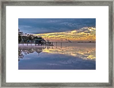 Sunset After The Storm Framed Print