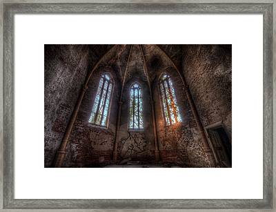 Sunset Arches Framed Print by Nathan Wright