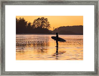 Sunset At Chestermans Framed Print by Dragonfly 'n' Brambles Imagery